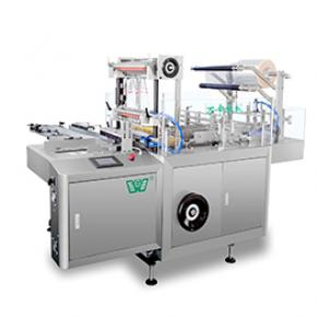 Automatic Box Cellophane 3D Packing Machine