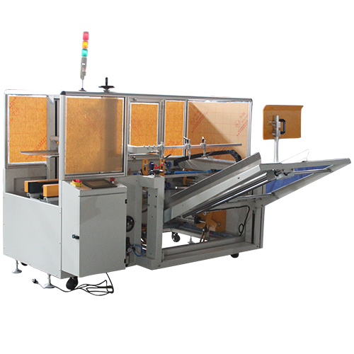 Automatic Case Erector with Bottom Sealer