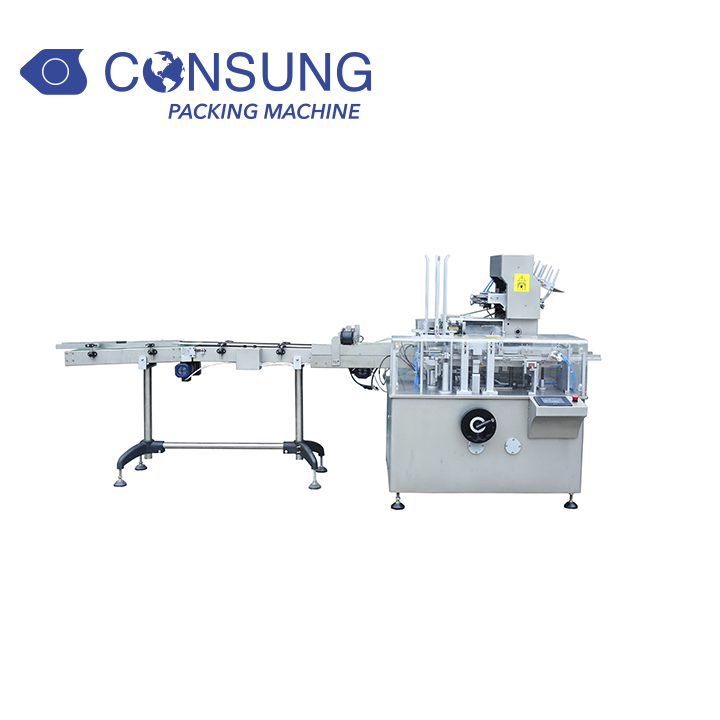 Ampoules vials Blister Carton Box Packaging Machine for Taiwan Customer