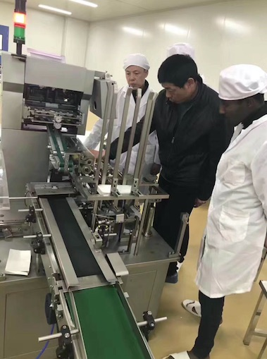 Automatic Cartoning Machine in Africa