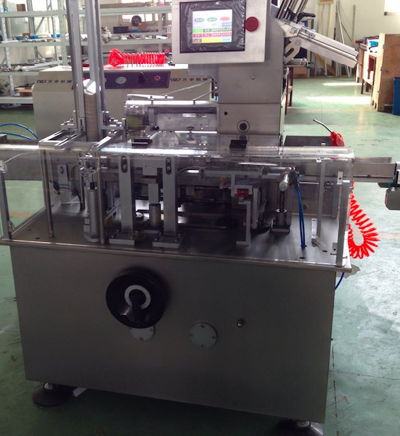 Thailand Customer Carton Box Packing Machine and Film Wrapping Machine